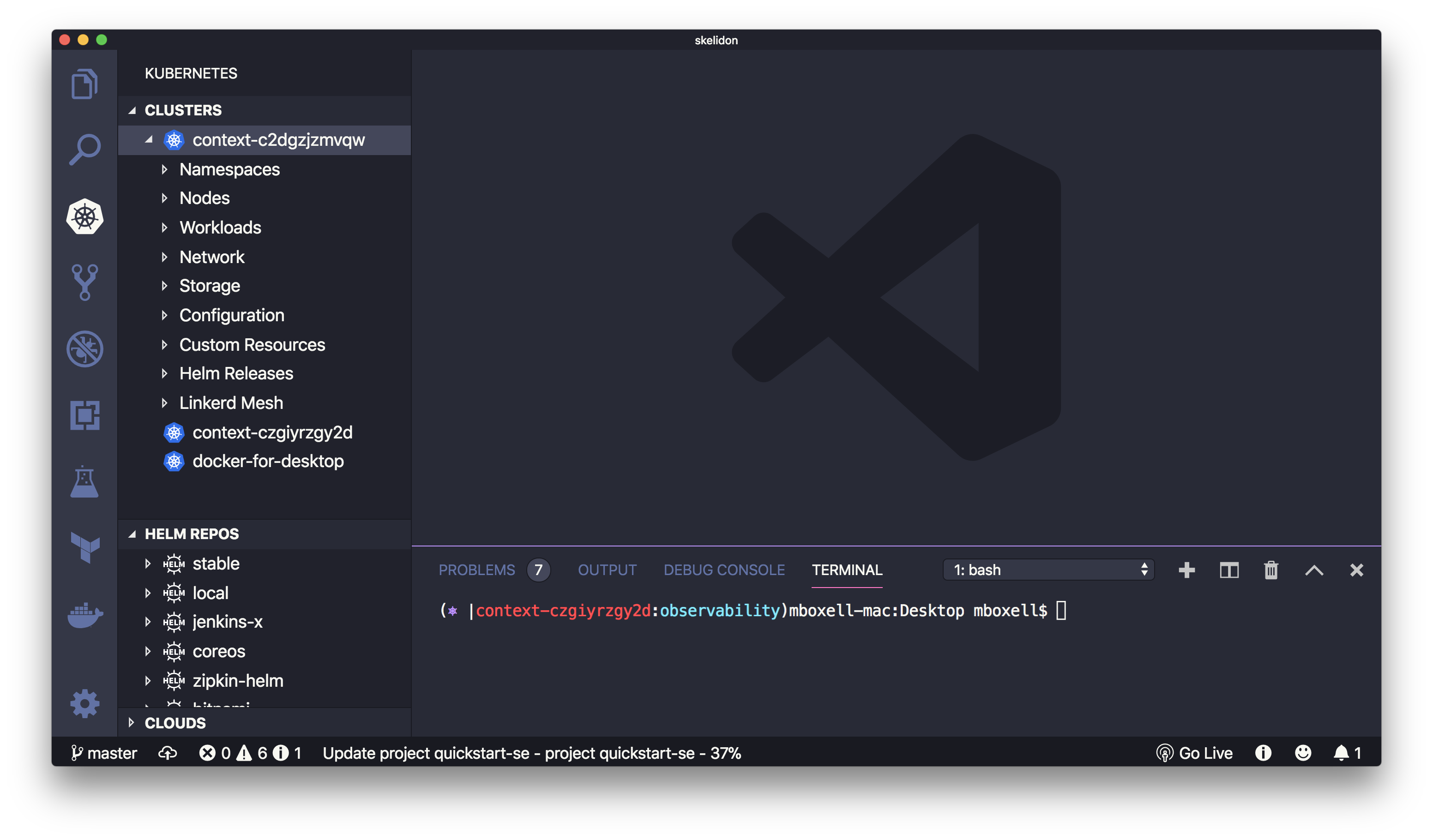Simplified Kubernetes Development — Visual Studio Code