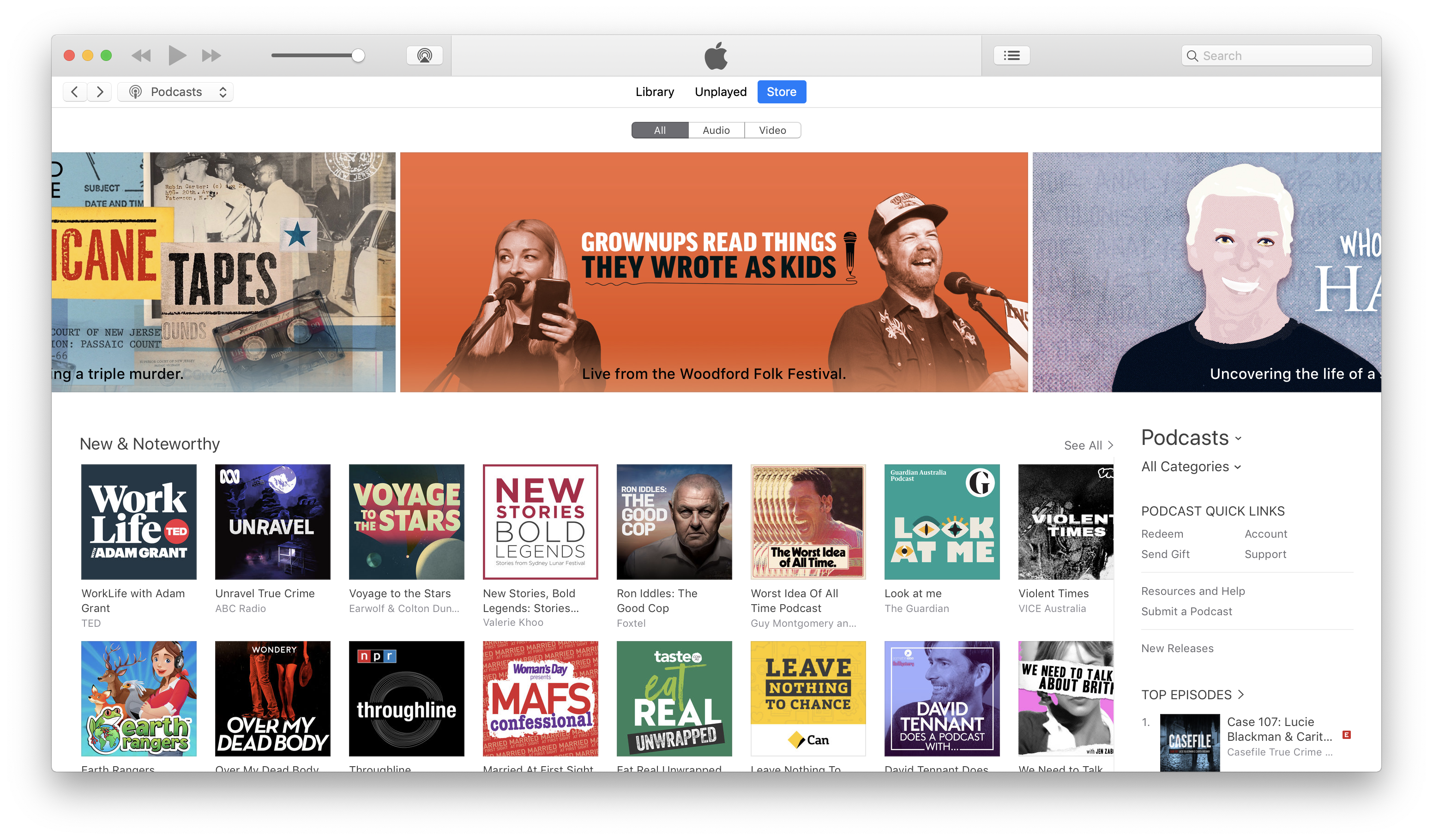 Apple featured my indie podcast on their front page  Here's