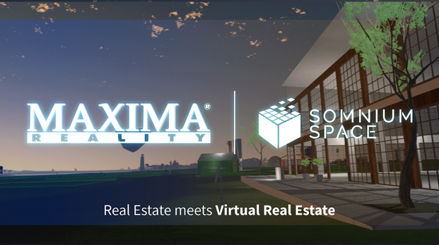 MAXIMA partners with Somnium Space to offer premium Virtual Reality Estate services to the general…