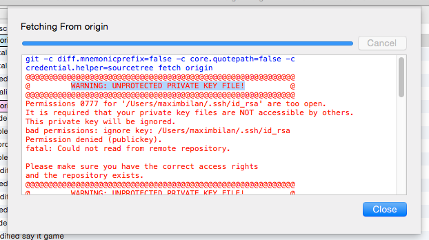 SSH Keys: Fixing the warning 'UNPROTECTED PRIVATE KEY FILE!'