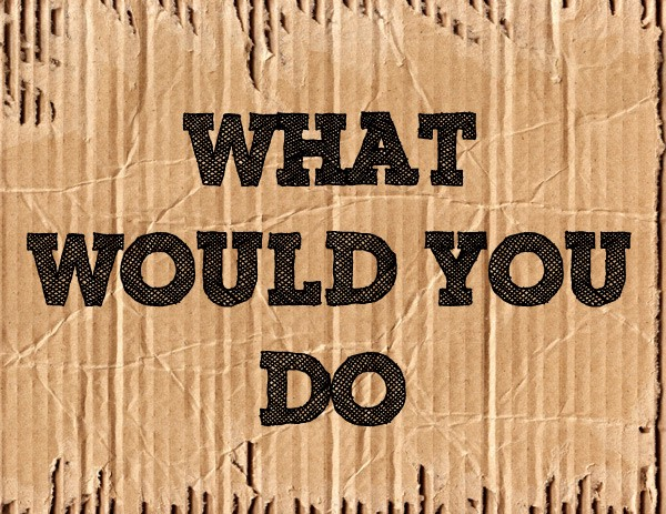 what would you do youtube - 600×463