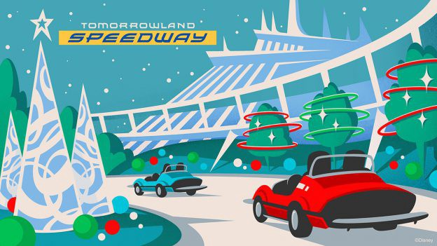 Christmas In July Disney World.Christmas Overlays Coming To Magic Kingdom Attractions At