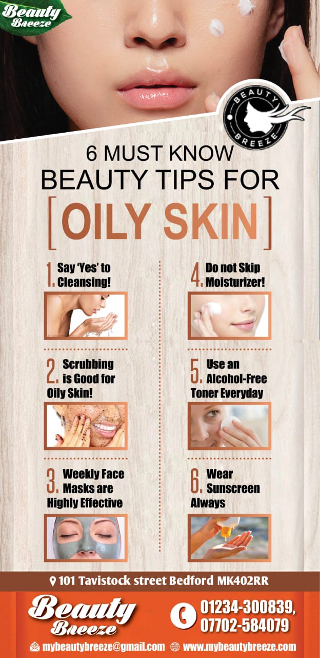 Beauty Tips For Oily Skin. Beauty Tips For Oliy Skin #GlowingSkin