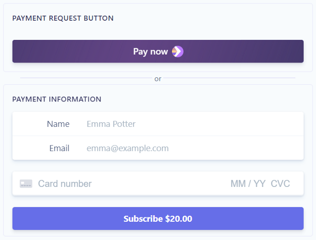 Subscriptions/Recurring payments with Stripe in ASP.NET