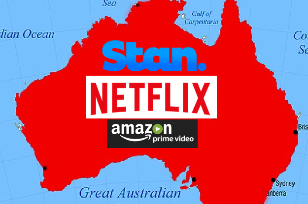 Map Of Australia Video.The State Of Subscription Video Streaming Services In Australia