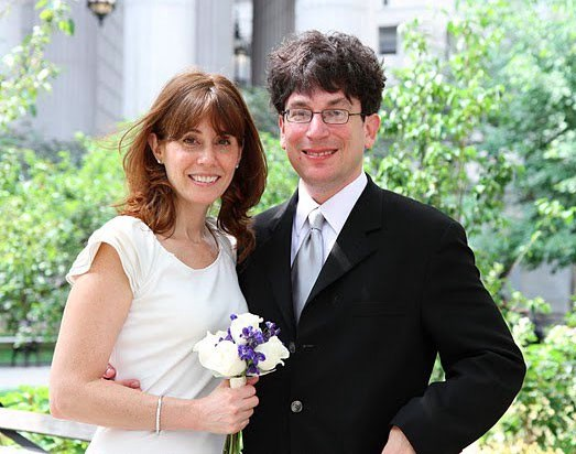 James Altucher with mysterious, Wife Robyn Samuels