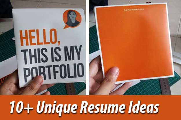 10 Creative Resume Design Ideas That You Would Love To Steal