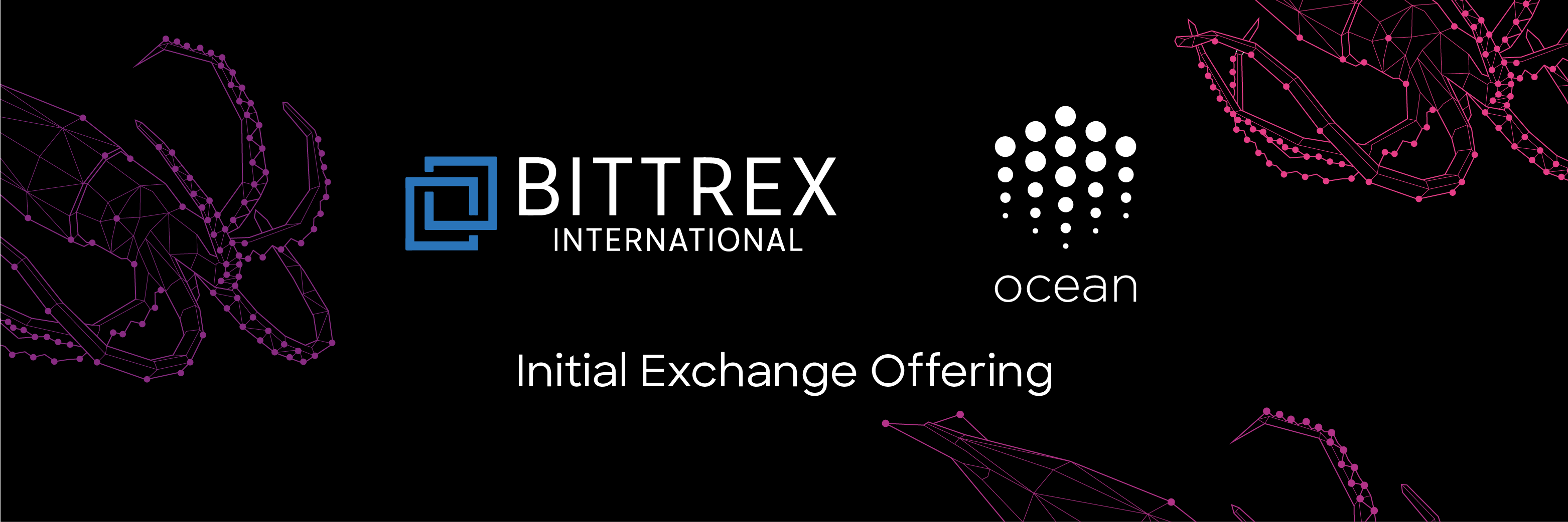 Initial Exchange Offering of Ocean Protocol on Bittrex