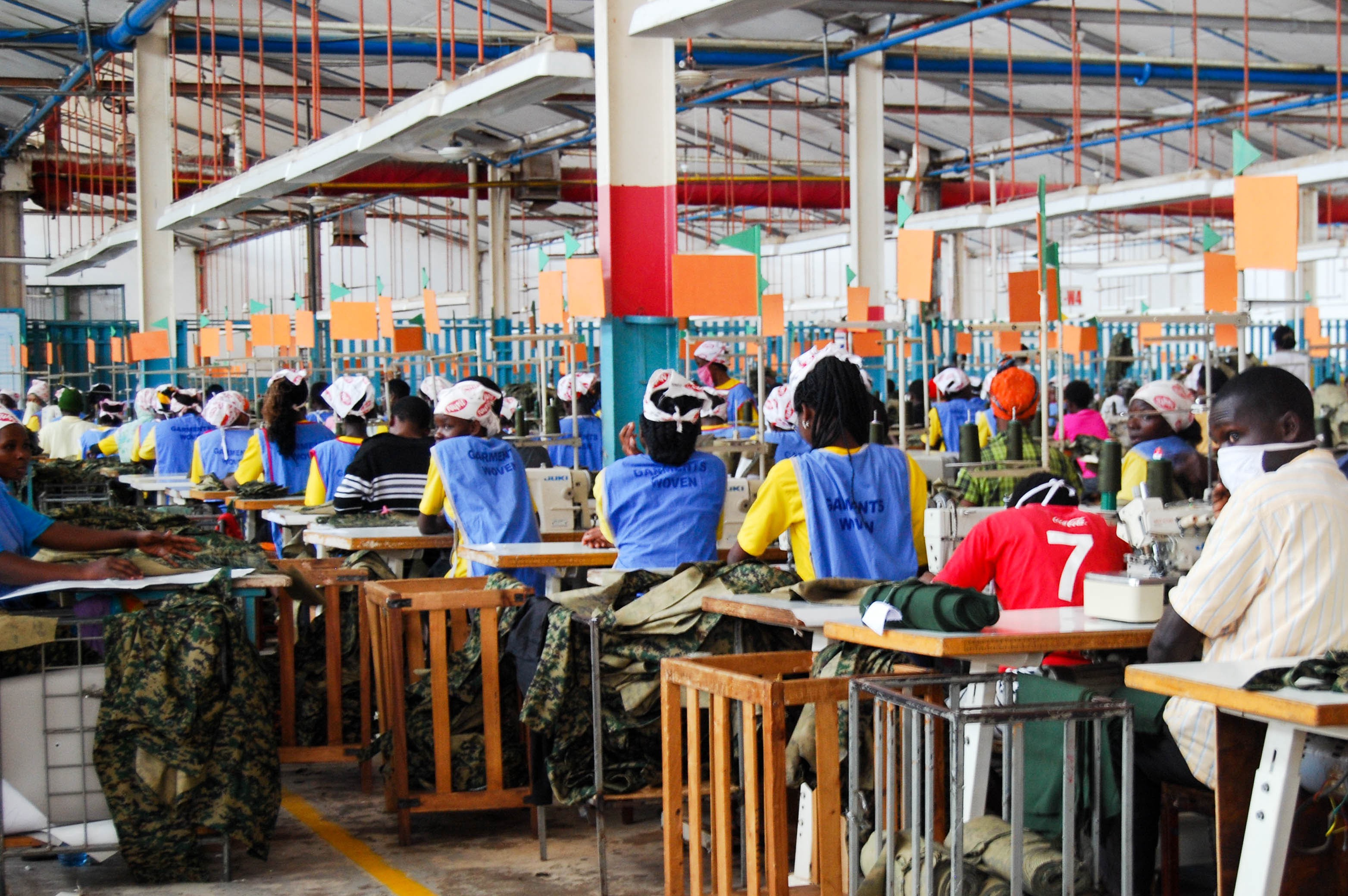 """Can """"Made in Africa"""" Mend A Textile Industry Dominated By"""