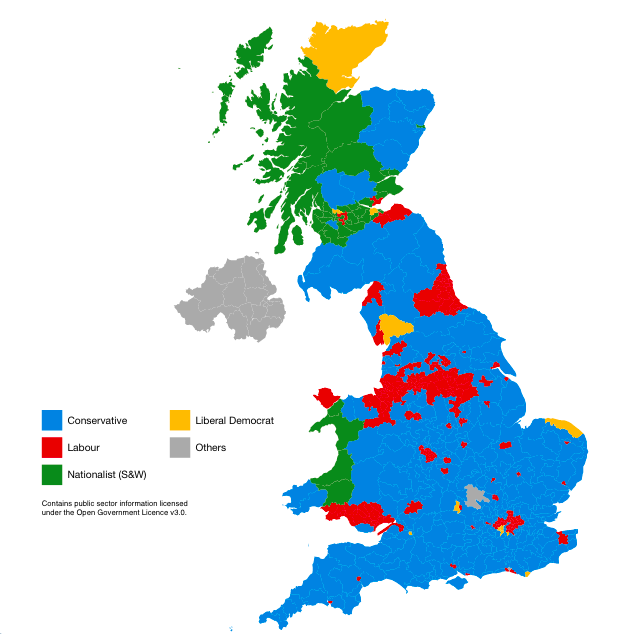 Command Line Cartography For A Uk Election Towards Data