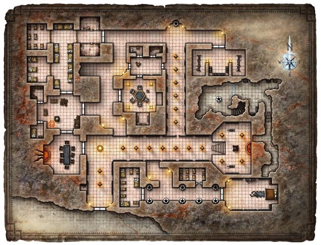 Dungeon with rooms algorithm for Javascript ultimate