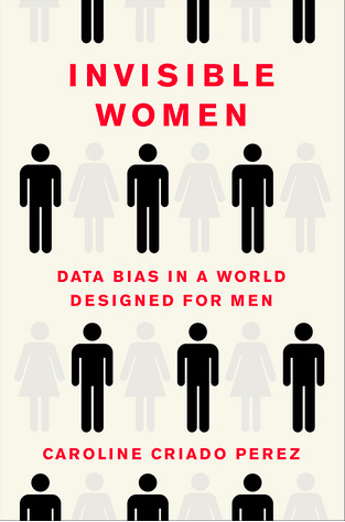 Cover image of book named Invisible Women—Data Bias In a World Designed For Men