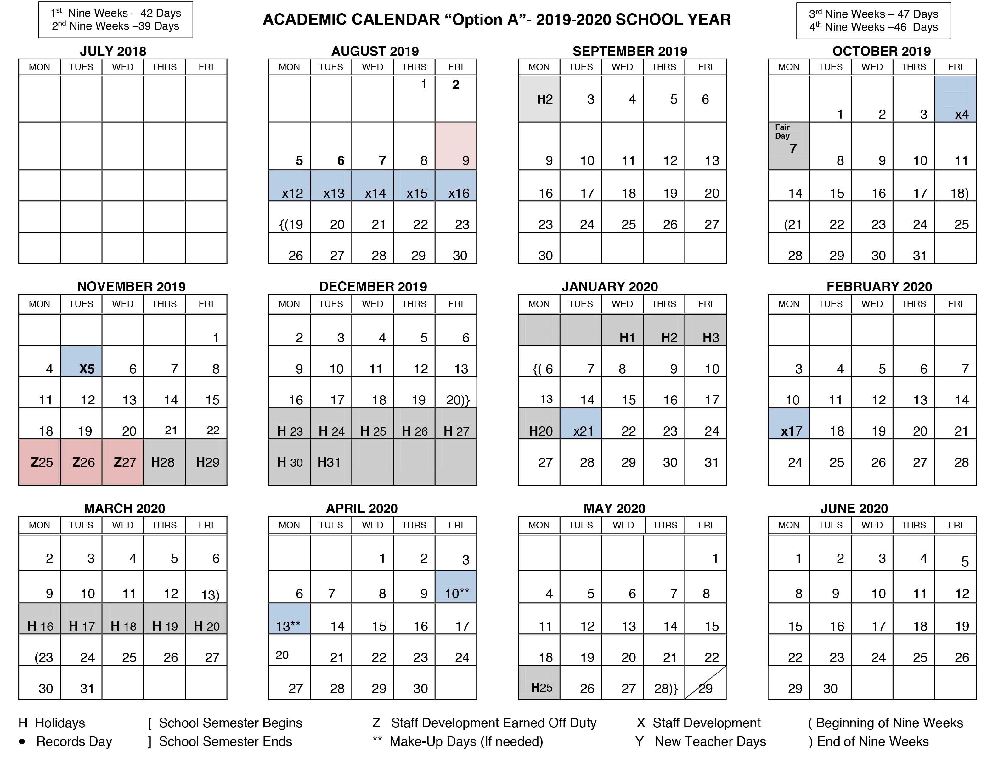 Texas State Spring 2020 Calendar.Board Discusses 2019 2020 Student Academic Calendar