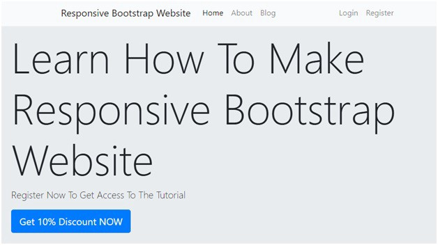How To Build A Responsive Bootstrap Website By Pawan Sahu Codeburst