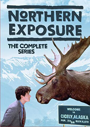 Northern Exposure DVD cover from Amazon, https://www.amazon.com/Northern-Exposure-Complete-Rob-Morrow/dp/B086Y4DLL2/ref=sr_1_