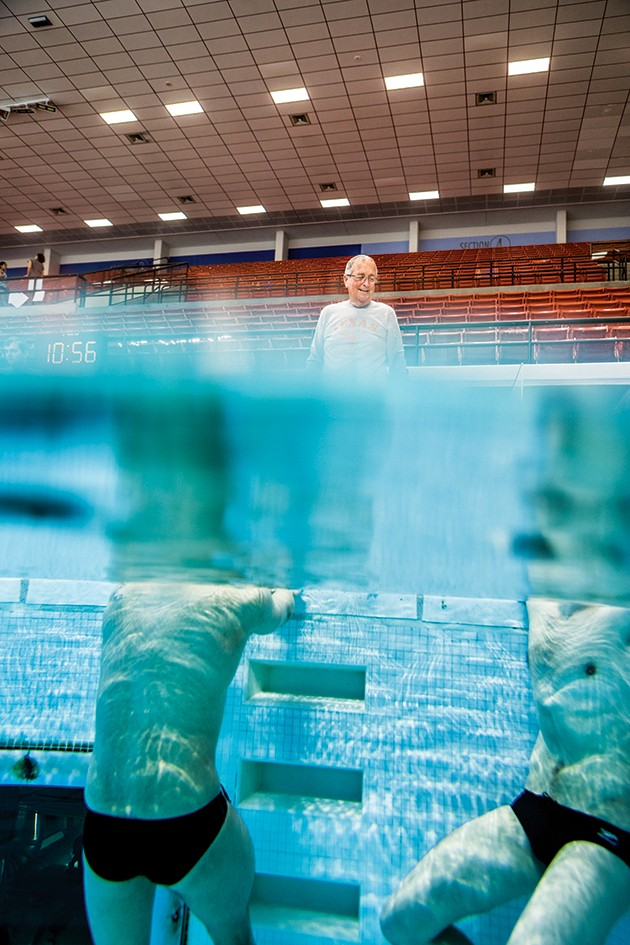 How Eddie Reese Turned Texas Men's Swimming and Diving into