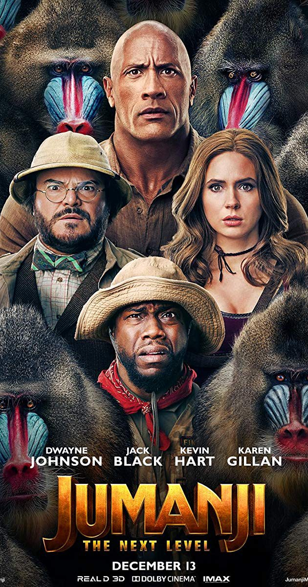 Jumanji 2019 The Next Level Two New Characters Join The Adventure By Cindy Laura Medium