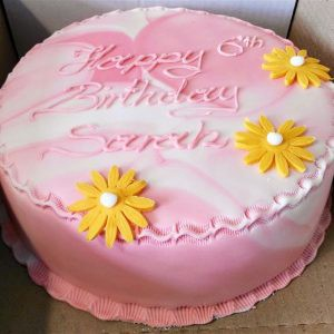 Order A Sponge Gateau Birthday Cake Of Different Flavours With Inscription Your Choice Happy Bon Voyageetc Price Starting From EUR30