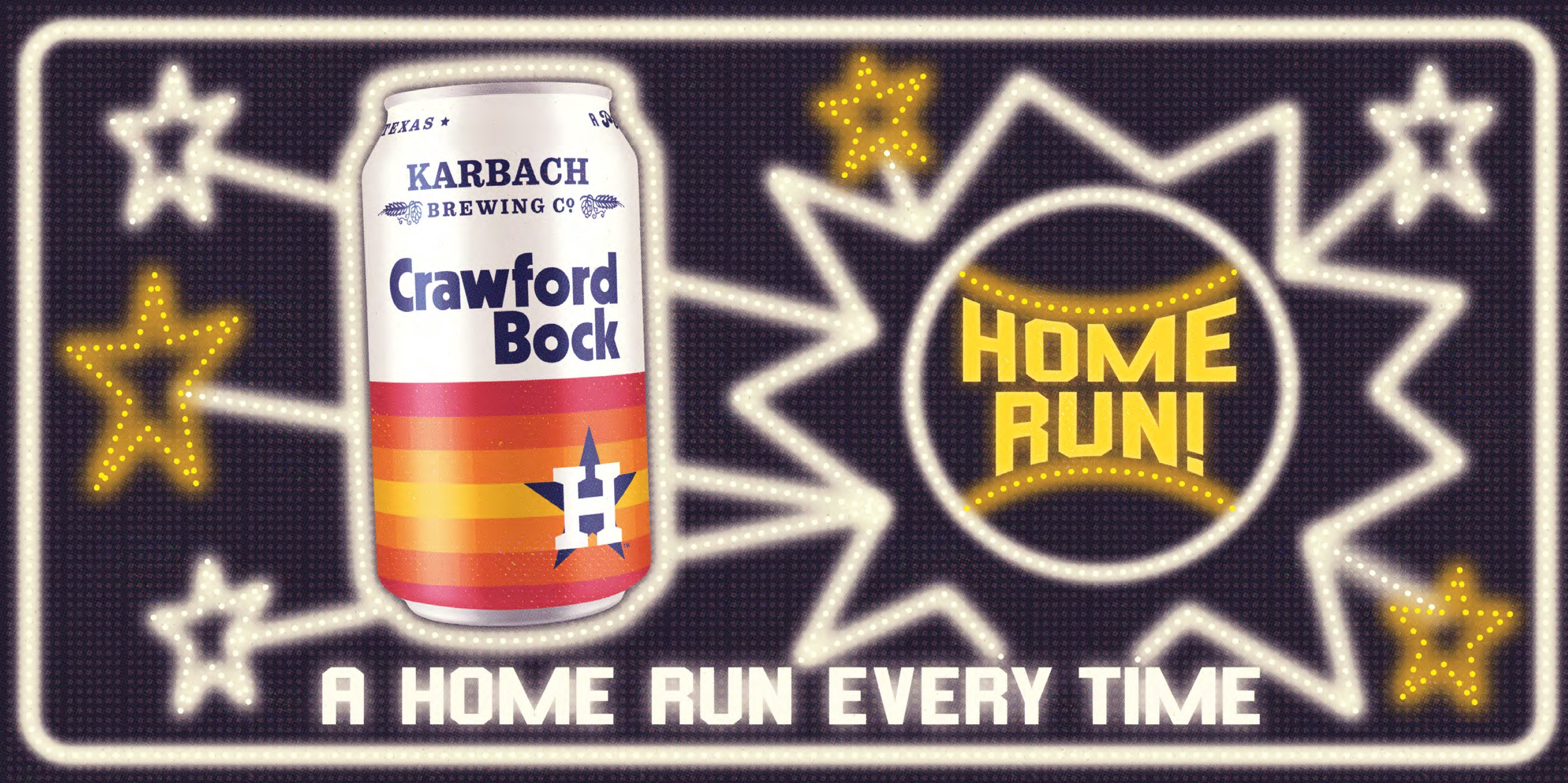 Astros, Karbach Brewing Co  Introduce New Crawford Bock Beer