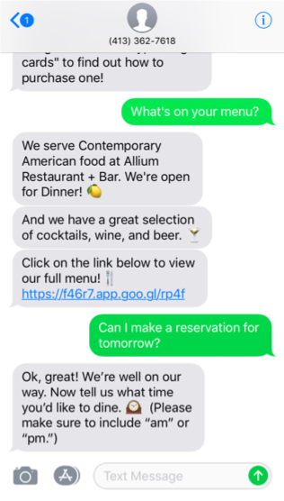 How restaurant chains can modernize the online customer