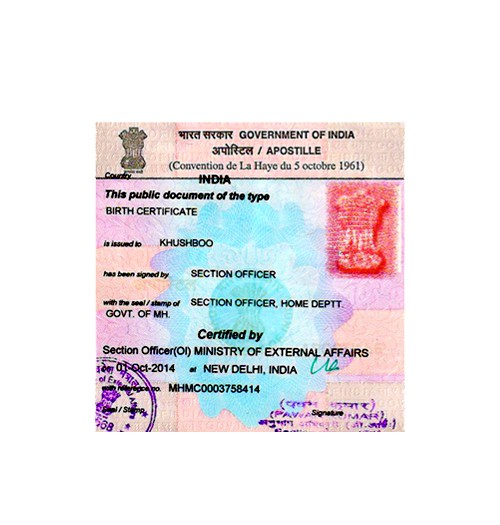 How can I apostille my Birth Certificate in Kolkata?