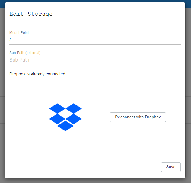 Linking Dropbox for 3CX backups