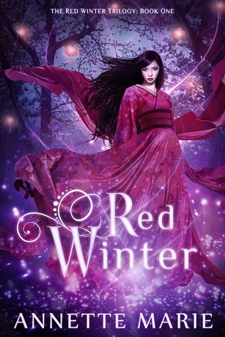 "The cover of Annette Marie's self-published novel, ""Red Winter."""