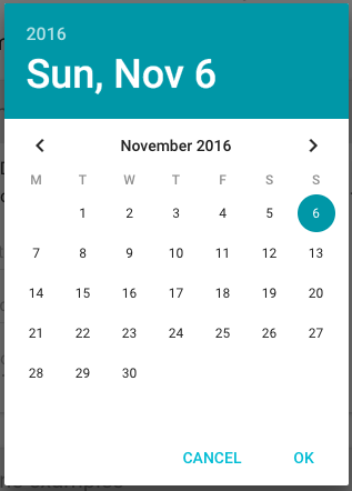 Material UI Date Picker and Time Picker - Alex S  - Medium