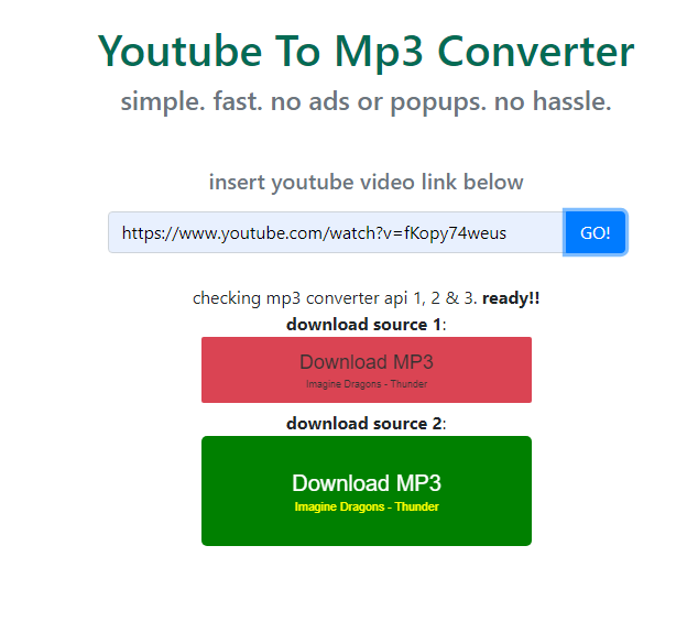 www youtube mp3 converter