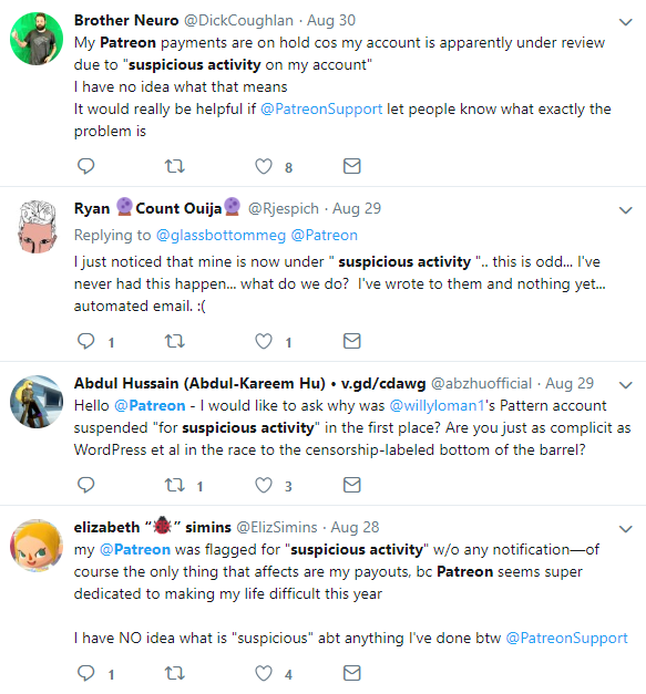 Patreon Messages