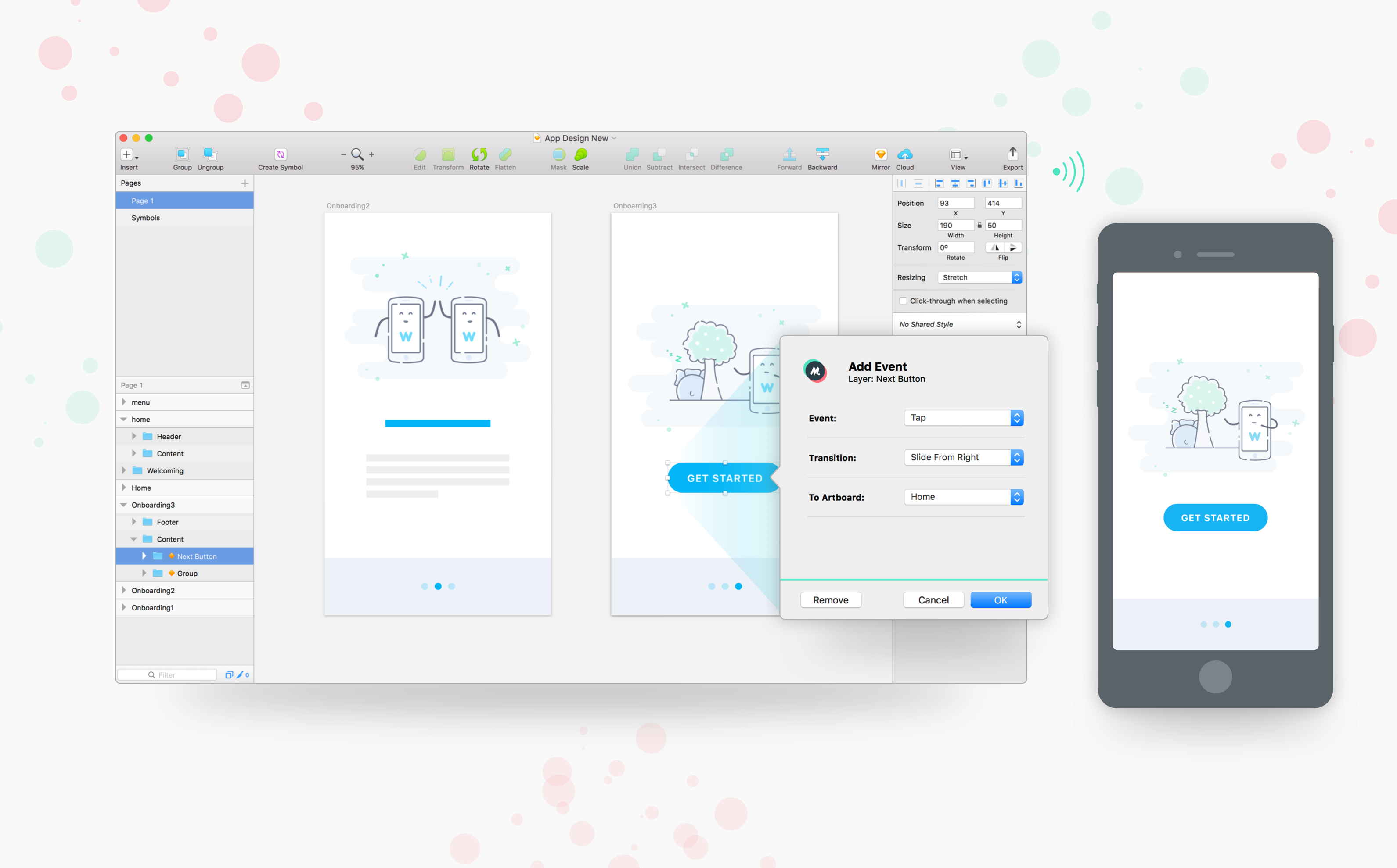 Mirr io — turn Sketch files into shareable prototypes