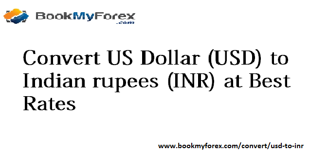 Us Dollar Usd To Indian Rus Inr