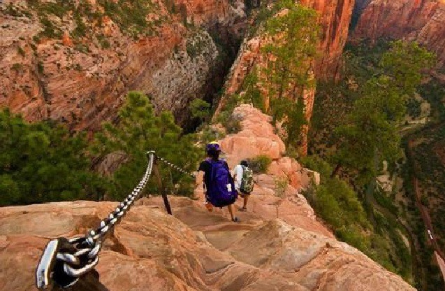 Amazing 10 Most Dangerous Hiking Trails In The World