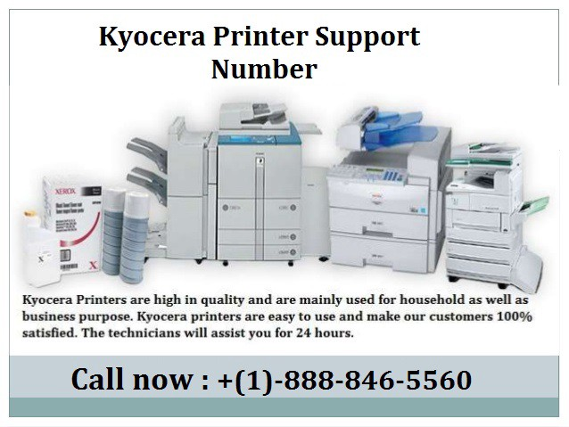 Easy Hacks To Solve It Common Kyocera Printer Problems by