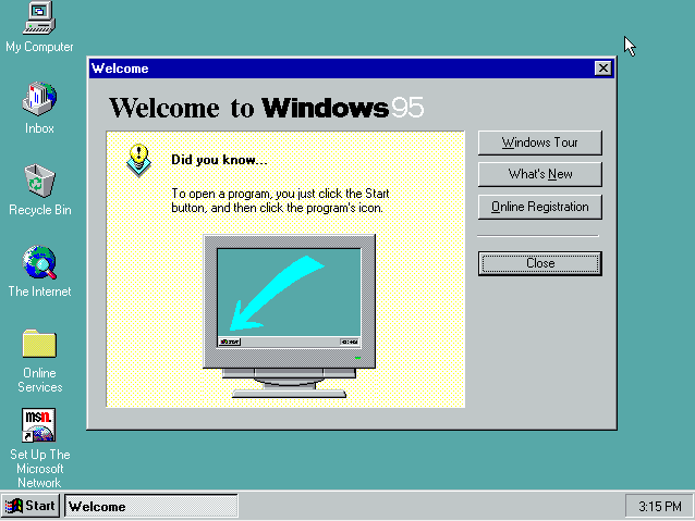 thumbnail image for review of Windows 95 — How Does it Look Today? | by Dmitrii Eliuseev | Apr, 2021 | Medium