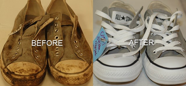 how to clean white vans that are really dirty