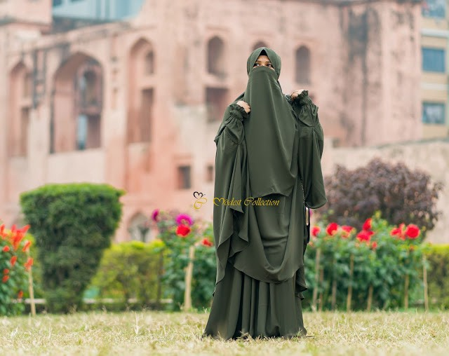 Difference Between Jilbab And Khimar By Modest Collection Medium