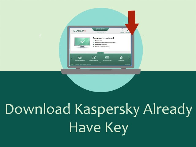How to download kaspersky already have product key (Windows 10)
