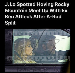 JLo Spotted With Ex Ben Affleck After A-Rod Split