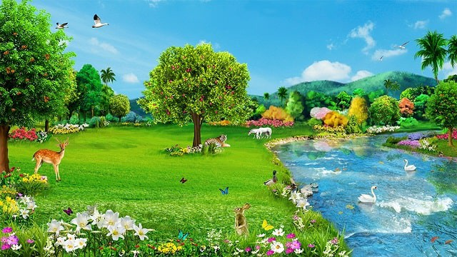 How Can We Humans Return To The Life In The Garden Of Eden