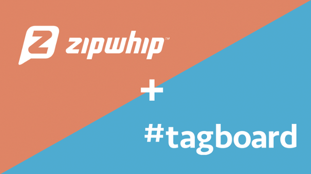 Tagboard and Zipwhip Integration: Now Text Content Can be a Part of Any Social Story