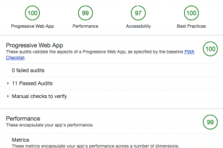 Turning another website into a Progressive Web App.