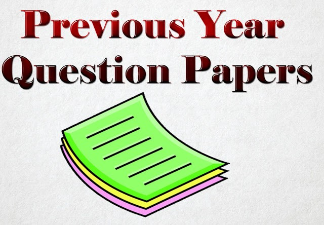 Previous Year Question Papers with Solutions