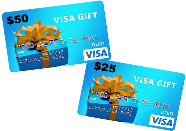 VISA Gift Card. One of the easiest, fastest and  by World
