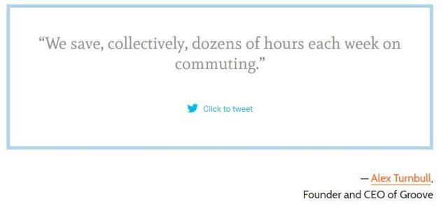 we save, collectively, dozens of hours each week on commuting - alex turnbull