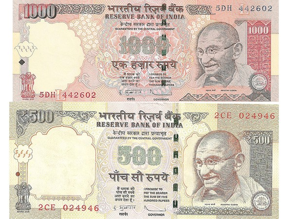 India fighting corruption by replacing old 500 and 1000 rupee notes