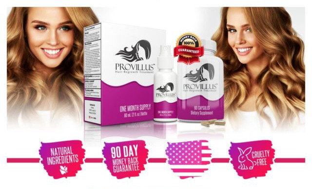 Best Hair Loss Treatment For Females By Provillus Medium