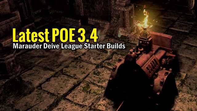 Latest Poe 3 4 Marauder Delve League Starter Builds By Mmo Guides Medium