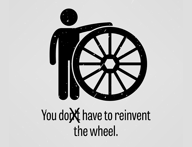 "Reinventing the Wheel. When people talk about ""reinventing the… 