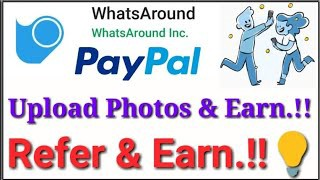 Whatsaround app review — Earn up to $10–200 Per week